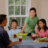 bordskik om aftensmadsbordet